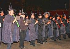 största halloween ståtar världen Arkivfoto