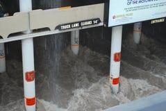 störtflod Las Vegas Arkivfoton