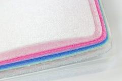 Stötsäker materiell mång- typ av Polyethelene skum royaltyfri fotografi