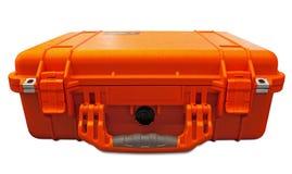 stötsäker orange säkerhet för fall Fotografering för Bildbyråer