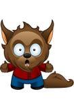 Stött Werewolfmonster - Royaltyfria Bilder