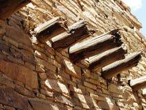 stöttar trä Royaltyfria Bilder