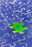 Stück, das vom Puzzlespiel verfehlt Lizenzfreie Stockfotografie