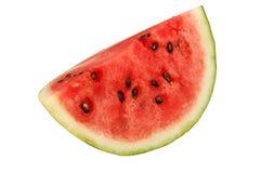 Stück der frischen Wassermelone stockbilder