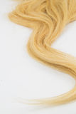 Stück des blonden Haares Lizenzfreies Stockbild