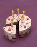 Stück des Kuchens Lizenzfreies Stockbild