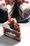 Stück des Kuchens Stockfotografie