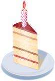 Stück des Kuchens Lizenzfreie Stockbilder