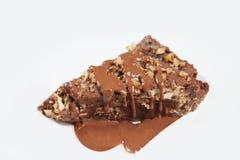 Stück des Kuchens für Feiertag Stockfotografie