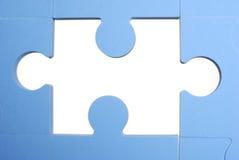 Stück des Puzzlespiels lizenzfreies stockbild
