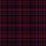 Stück des roten und schwarzen Tuches Stockfotografie