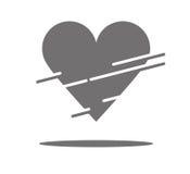 Stück Herz Lizenzfreies Stockbild