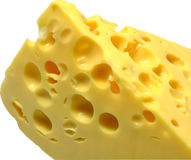 Stück Käse Lizenzfreie Stockfotos