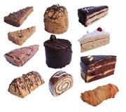 Stück Kuchen Lizenzfreie Stockbilder