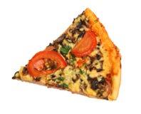 Stück Pizza stockfotos