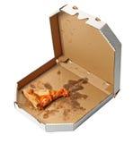 Stück Pizza Lizenzfreie Stockfotografie