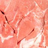 Stück Schweinefleisch Lizenzfreies Stockfoto