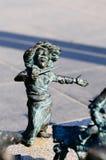 Stückchen Kunst stellte FO zwergartiges Breslau, Polen auf Stockfotografie