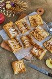 Stücke Apfelkuchen Lizenzfreie Stockfotos