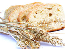 Stücke Brot Stockfotografie