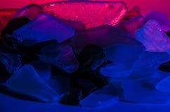 Stücke Seeglas stockbild