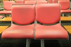 Stühle für Passagiere Lizenzfreie Stockbilder