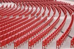 Stühle im Theater Lizenzfreies Stockbild