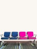 Stühle im Warteraum Stockfotografie
