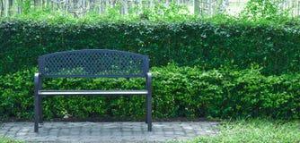 Stühle im Weinlesegarten Lizenzfreies Stockfoto