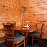Stühle und Tabelle Lizenzfreies Stockbild