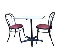 Stühle und Tabelle Lizenzfreie Stockfotografie