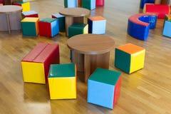 Stühle und Tabellen Lizenzfreies Stockfoto