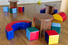 Stühle und Tabellen Lizenzfreie Stockfotografie