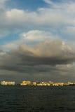 Stürme über Sarasota Stockfoto