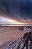 Stürmische Küste stockfotos