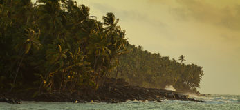 Stürmische Küste Lizenzfreie Stockfotos