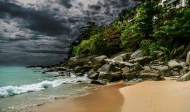 Stürmische Landschaft Stockfotos