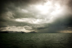 Stürmische Meere lizenzfreies stockbild