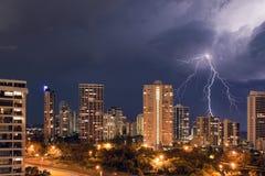 Stürmische Nacht Stockbilder