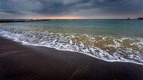 Stürmische Ufer Stockfotografie