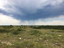 Stürmische Wolken Lizenzfreies Stockfoto
