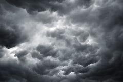 Stürmische Wolken - Archivbild Stockbilder