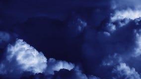Stürmische WolkenZeitspanne, Gesamtlänge auf Lager stock video footage