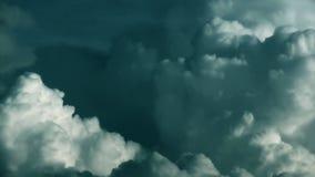 Stürmische WolkenZeitspanne, Gesamtlänge auf Lager stock footage