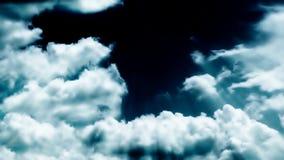 Stürmische WolkenZeitspanne, Gesamtlänge auf Lager stock video