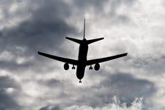 Stürmischer Anflug Lizenzfreies Stockbild