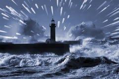 Stürmischer Atlantik Lizenzfreie Stockbilder