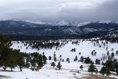 Stürmischer Berg Stockfotos