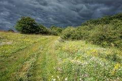 Stürmischer Hügel Lizenzfreie Stockfotografie