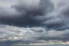 Stürmischer Himmel Stockfoto